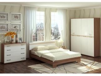 Спальня Милания - рисунок Город - Мебельная фабрика «БелДревМебель»