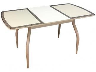 Стол обеденный раздвижной  со стеклянной поверхностью М142.103 - Мебельная фабрика «Техсервис», г. Санкт-Петербург