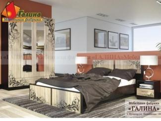 Спальня с фотопечатью Ф-04 - Мебельная фабрика «Галина»