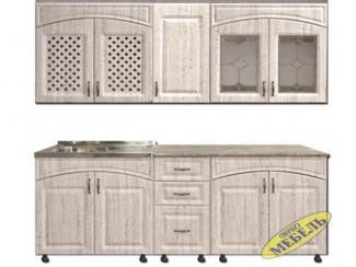 Кухня прямая 45 - Мебельная фабрика «Трио мебель»