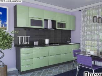 Кухня прямая Премиум 8 - Мебельная фабрика «Элна»