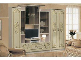 Гостиная стенка модульная Наполеон 2 - Мебельная фабрика «Аристократ»