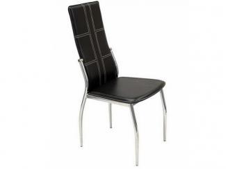 Стул металлический хромированный 1715BL - Импортёр мебели «МебельТорг»
