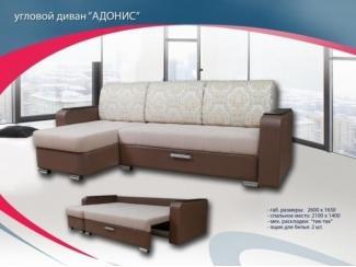 Угловой диван трансформер Адонис - Мебельная фабрика «Софт-М», г. Ульяновск