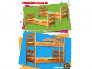 Двухъярусная кровать  Настенька - Мебельная фабрика «Лик»