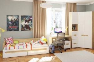 Современная мебель для детской Леонардо  - Мебельная фабрика «Мебель-Неман», г. Гродно
