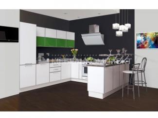 Кухня угловая Безупречная - Мебельная фабрика «Мебелькомплект», г. Ульяновск