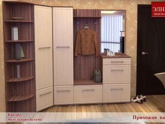 Прихожая Квадро вариант 3 - Мебельная фабрика «Элна»