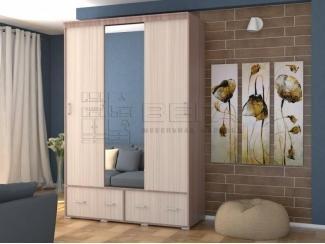 Шкаф-купе 3-х створчатый Клио 3 - Мебельная фабрика «Вега», г. Пенза