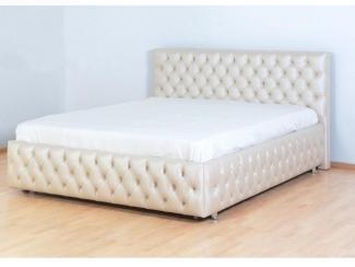 Кровать в каретной стяжке - Мебельная фабрика «Уют»