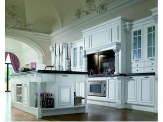 Элитная белая кухня  - Импортёр мебели «Riboni Group (Италия)»