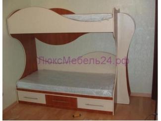 Детская двухъярусная кровать - Мебельная фабрика «ЛюксМебель24»