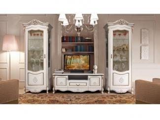 Гостиная стенка Аллегро золото - Мебельная фабрика «Слониммебель»