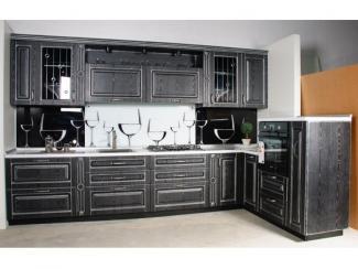 Кухонный гарнитур угловой Белесса Неро - Мебельная фабрика «Cucina»