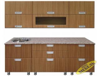 Кухня прямая 18 - Мебельная фабрика «Трио мебель»