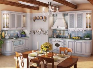 Кухня Искья голубая - Мебельная фабрика «Avetti»