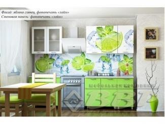 Кухня с фотопечатью Лайм - Мебельная фабрика «ВВР»