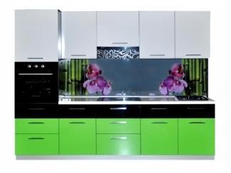 Кухня прямая Орхидея - Мебельная фабрика «Мебелин», г. Майкоп