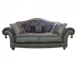 Темный прямой диван Вагнер - Мебельная фабрика «Экодизайн»