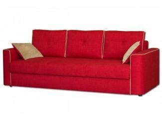 Красный прямой диван Рей  - Мебельная фабрика «Могилёвмебель», г. - не указан -