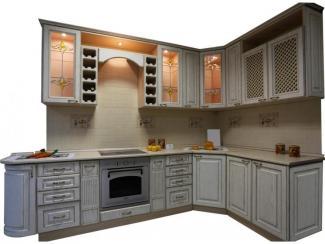 Кухня угловая Патина золото - Мебельная фабрика «Техсервис»