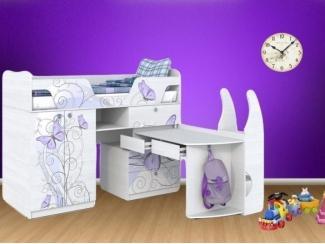 Детская кровать Леди 1 - Мебельная фабрика «Династия»