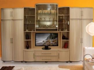 Гостиная стенка Татьяна-Люкс 4 - Мебельная фабрика «Кошелев и К»