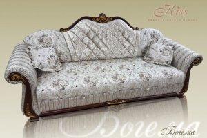 Изящный классический диван Богема - Мебельная фабрика «Kiss», г. Ульяновск