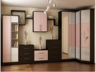 Стильная гостиная с угловым шкафом  - Мебельная фабрика «Перспектива»