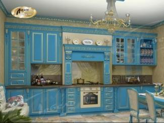 Кухня прямая «Екатерина Артемида» - Мебельная фабрика «Ладос-мебель»