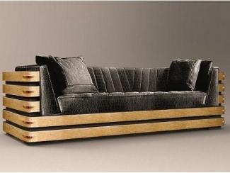 Элитный прямой диван - Мебельная фабрика «Максик»