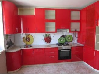 Яркая угловая кухня  - Мебельная фабрика «Альфа-Мебель»