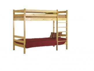 Кровать двухъярусная  из массива сосны. - Мебельная фабрика «ARTWOOD»