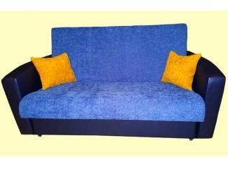 Синий небольшой диван Аккорд 1 - Мебельная фабрика «Дария»