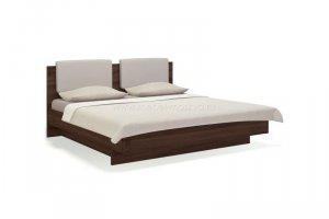 Кровать двуспальная 180х200 с мягким изголовьем Solo - Мебельная фабрика «Мебель-Москва»