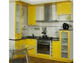 Кухонный гарнитур Ярко-желтый - Мебельная фабрика «Московский мебельный альянс»