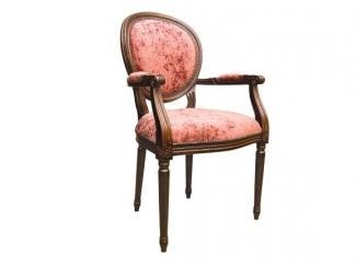 Стул Louis XVI Al с подлокотниками  - Мебельная фабрика «Ногинская фабрика стульев»