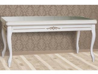 Стол журнальный ГРАФ со стеклом эмаль - Мебельная фабрика «Нижегородец»