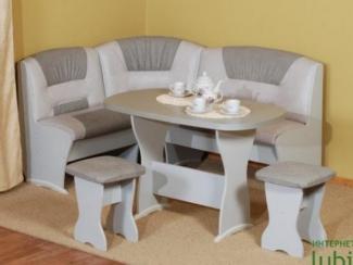 кухонный уголок тип 10 серый - Мебельная фабрика «Любимый дом (Алмаз)»