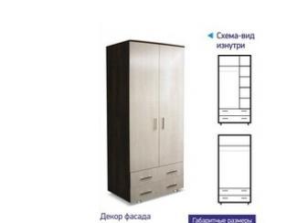 Шкаф 2х створчатый - Мебельная фабрика «Премьер мебель»