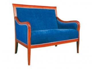 Классический синий диван Йорк-061 - Мебельная фабрика «Ногинская фабрика стульев»