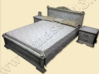 Кровать Элегия Прованс - Мебельная фабрика «Массив»