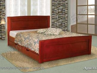 Кровать из дерева Ариель 1 - Мебельная фабрика «Альянс 21 век»