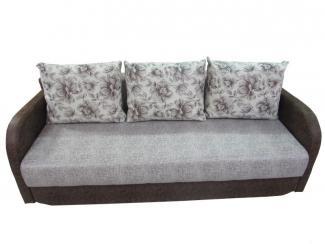 Прямой диван с мягкими подлокотниками - Мебельная фабрика «Идиллия»