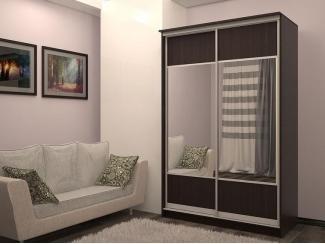 Шкаф Лондон с комбинированными дверями  - Мебельная фабрика «Центр мебели Интерлиния»