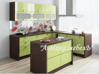 Современная кухня из пластика Оливия - Мебельная фабрика «А-Ника», г. Ульяновск