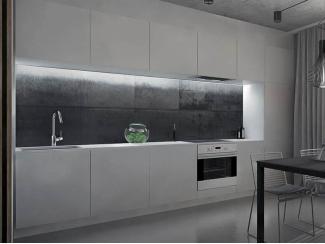 Кухонный гарнитур ЛДСП серый - Мебельная фабрика «ЮММА»