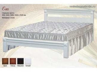Кровать Ева - Мебельная фабрика «Мебельная Сказка»