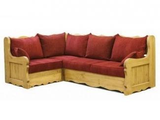 Угловой диван в стиле Кантри