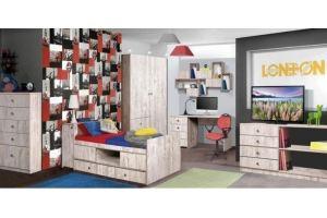 Детская Лондон 2 - Мебельная фабрика «КМК»